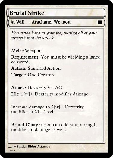 Brutal Strike DnD 4th Edition Power.jpg