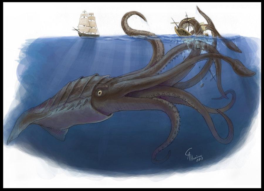 Colossal Octopus (5e Creature) - D&D Wiki