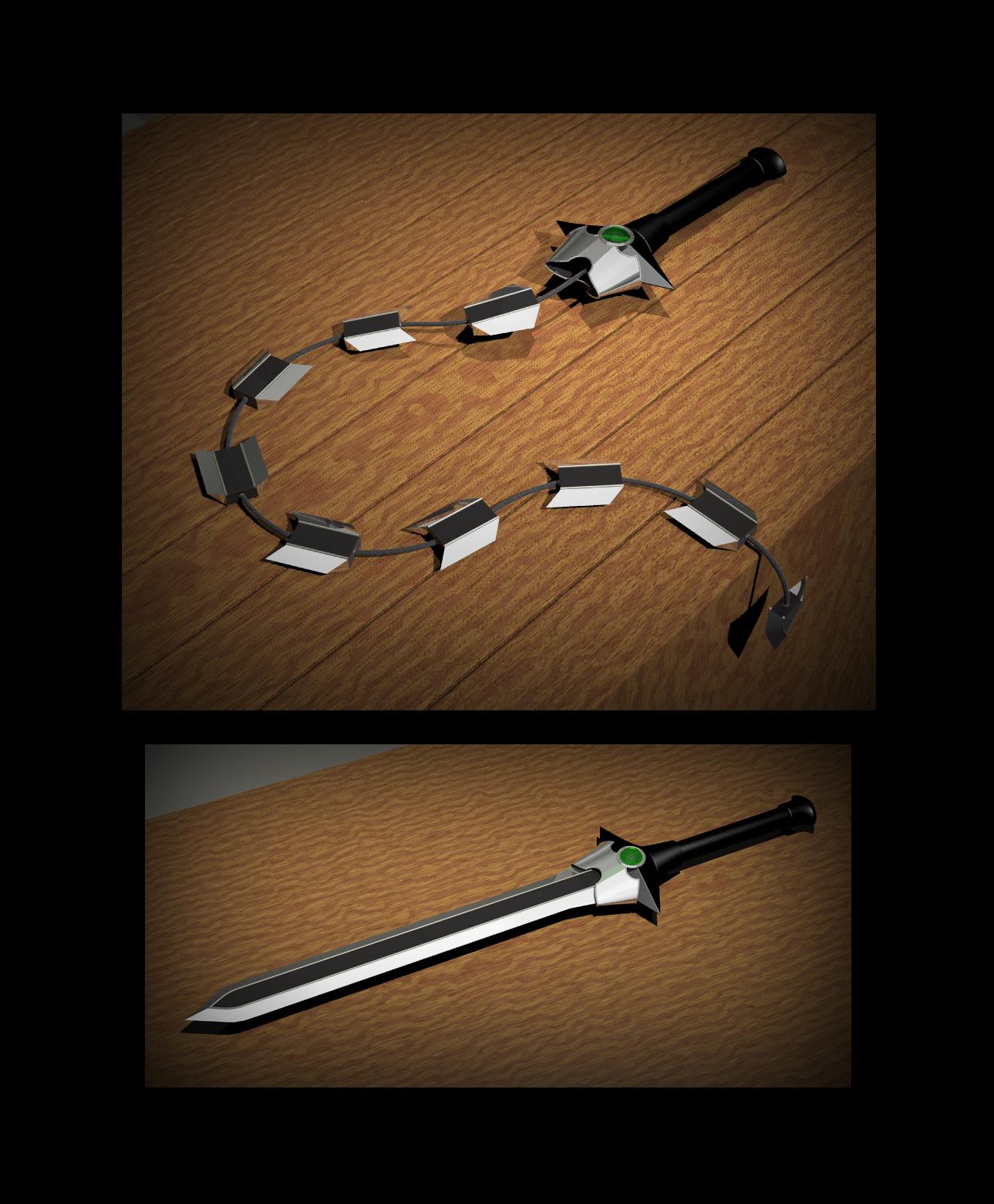 Whip Sword (3 5e Equipment) - D&D Wiki
