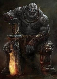 Dnd Goliath Concept Art