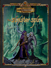 Cover of The Sinister Spire