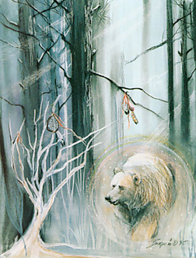 Celestial Dire Bear 3 5e Creature D Amp D Wiki