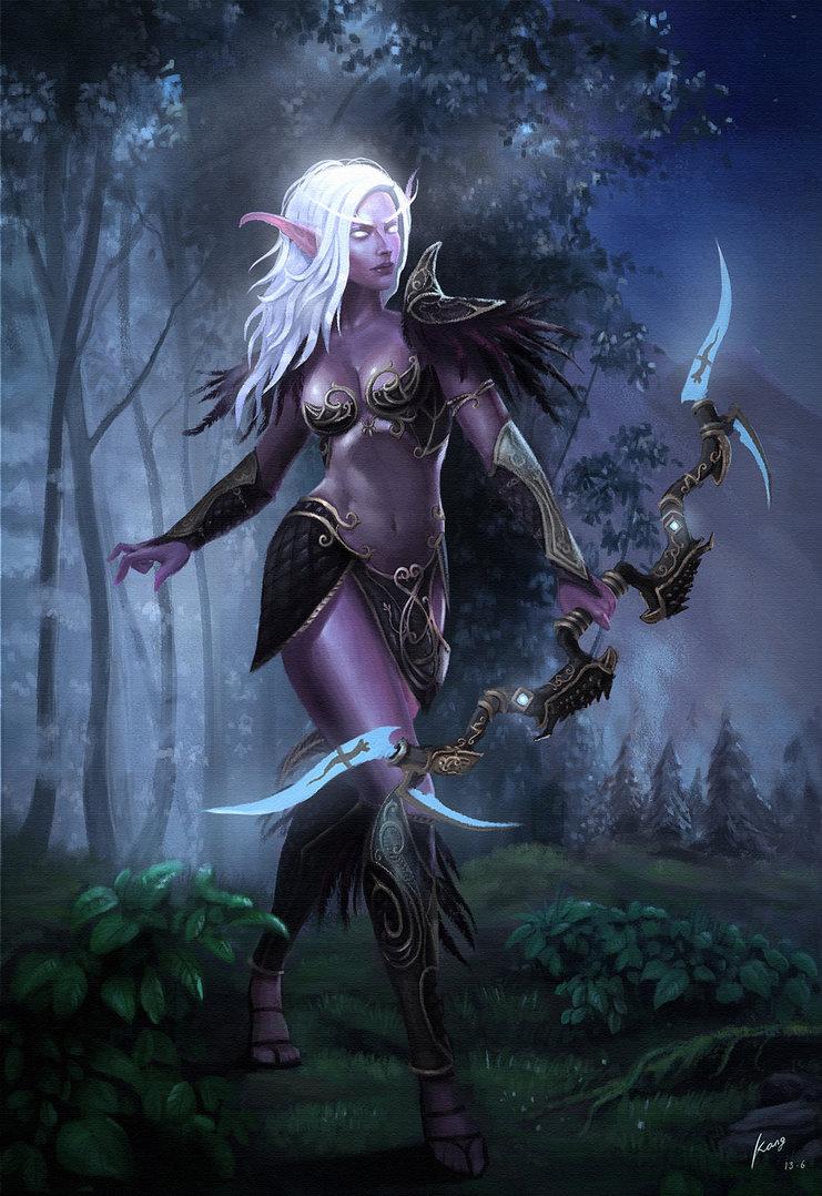Night Elf (5e Subrace) - D&D Wiki