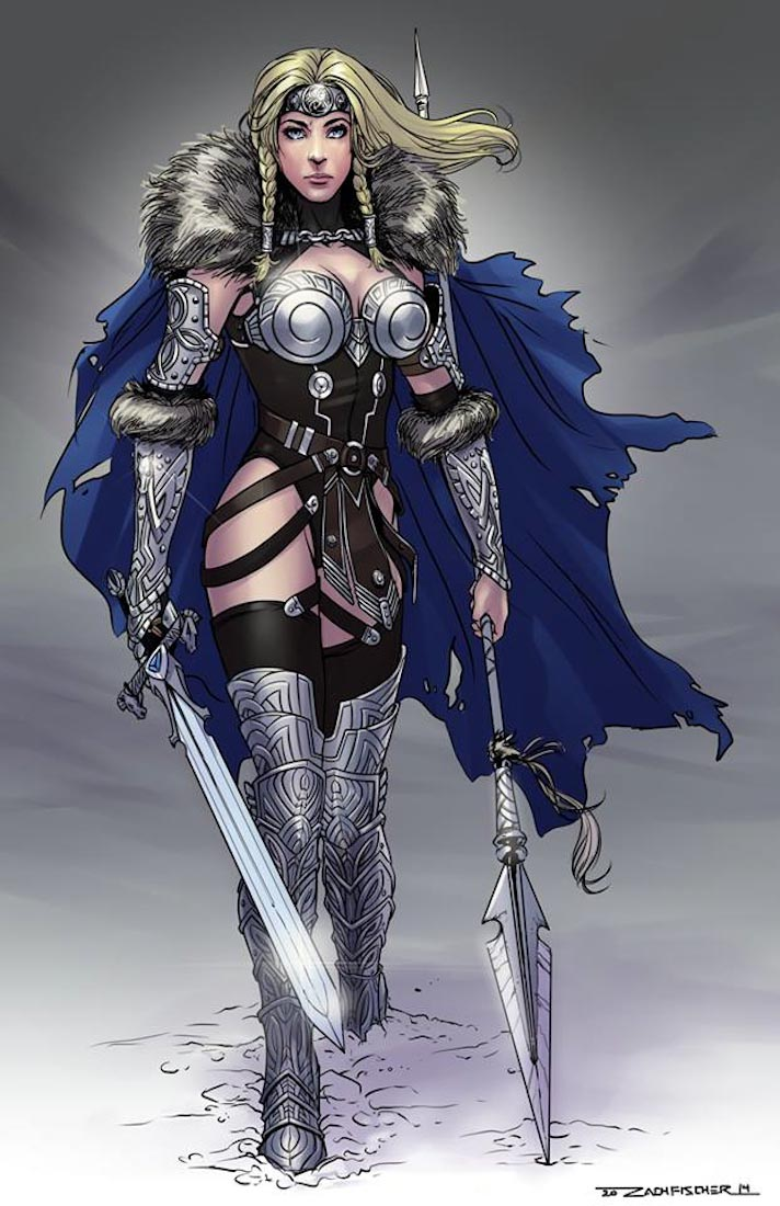 Valkyrie (5e Creature) - D&D Wiki