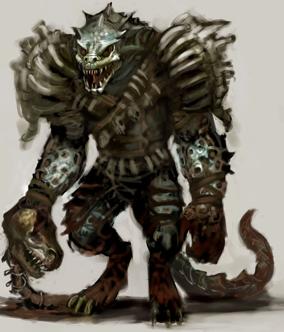 Lizardfolk   edit  Lizardfolk In Armor