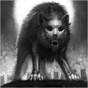 Fiendish Wolf 35e Creature Dd Wiki