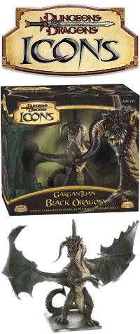 D&D Icons:Gargantuan Black Dragon - D&D Wiki
