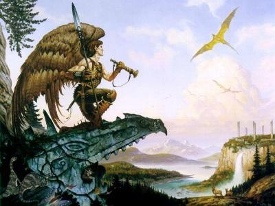 Winged Elf 5e Subrace D Amp D Wiki