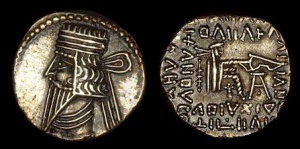 This file is in the public domain because its copyright has expired in the United States and those countries with a copyright term of no more than the life of the author plus 100 years. From http://www.parthia.com/coins/si_volo3b.jpg