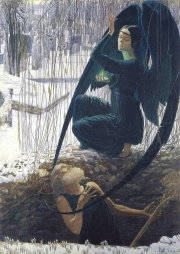 By Carlos Schwabe [Public domain], via Wikimedia Commons
