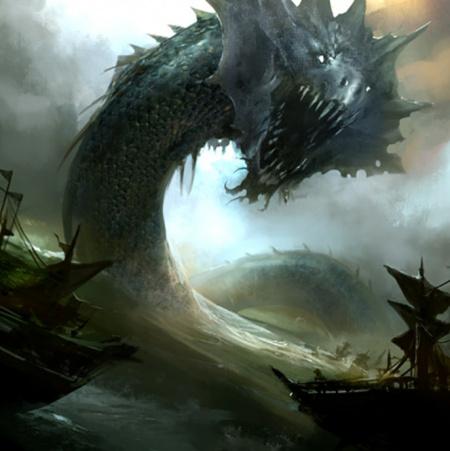 Sea Serpent (5e Creature) - D&D Wiki