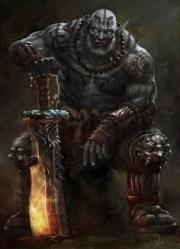 Half Orc Portrait Golric (5e Race) - D&a...