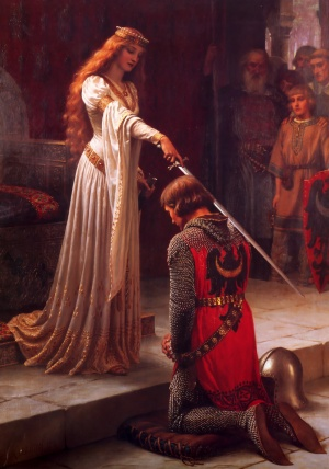 Edmund Blair Leighton [Public domain], via Wikimedia Commons