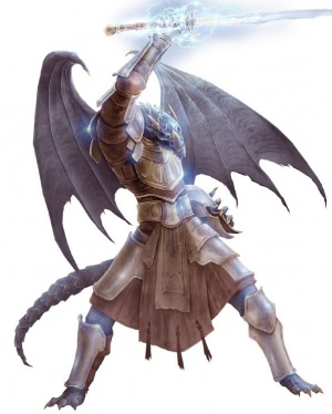 5e how to build a half tiefling half dragon character